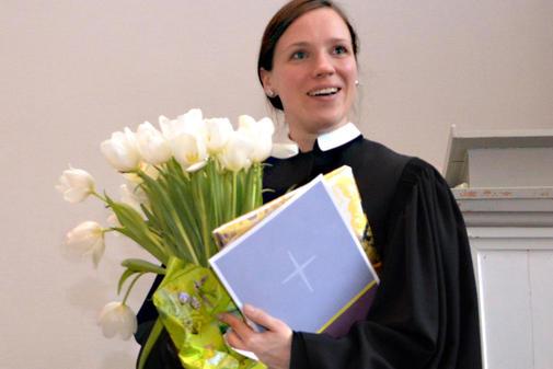 Marie-Luise Marlow, Pfarrerin zu Putbus