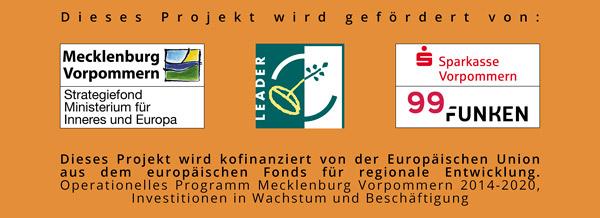 Dorfgemeinschaftshaus Kasnevitz: Förderer und Unterstützer